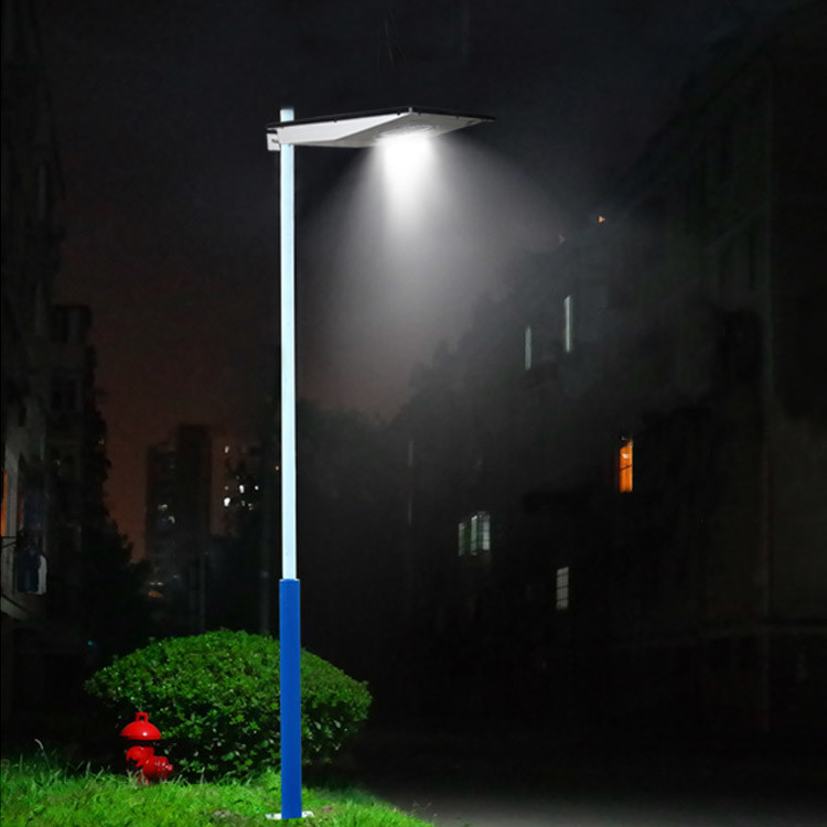 Type garden 8w Integrated Solar Street Light Solar Based Led Street Lights